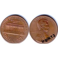 1 цент 1992 года. США