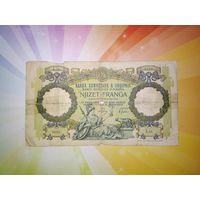 Албания 20 франга 1939г   РЕДКАЯ