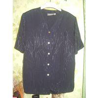 Блузки/рубашки с коротким рукавом, р.50, 3шт.
