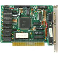 Видеокарта EGA-256K для ретро-компьютеров XT (8бит), AT-286,386... Комбинированная плата с портами LPT, COM (мышь), разъём (штырьки на плате) под световое перо.
