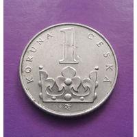 1 крона 1993 Чехия #02
