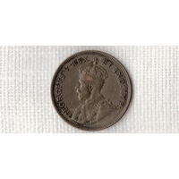 Восточная Африка 1 шиллинг 1924 /серебро//(Ст)