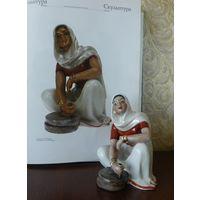 Индианка с жерновами 12,5 см ВС автор Жникруп Киев