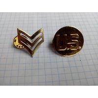 Шевроны и знаки армии США