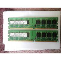 ОПЕРАТИВНАЯ ПАМЯТЬ DDR2 1GB 800MHZ HYNIX PC2-6400U-555-12 HYMP512U64CP8-S5