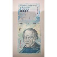 ВЕНЕСУЭЛА 2017 ГОД 10 000 БОЛИВАР-ПРЕСС-