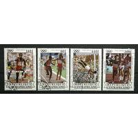 Центральная Африка 1984г. Олимпийские игры. Спорт. Серия.