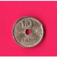 40-30 Норвегия, 10 эре 1948 г.