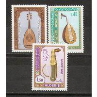 Алжир 1984 Музыкальные  инструменты