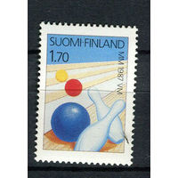 Финляндия - 1987 - Спорт. Боулинг - [Mi. 1015] - полная серия - 1 марка. MNH.