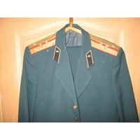 Китель мундир форма(брюки китель)капитана ВС СССР.
