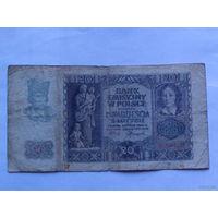 Польша 20 злотых 1940г.  #5462... распродажа
