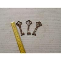 Комплет старинных ключей