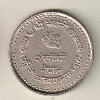 Непал 2 рупия 1982 ФАО