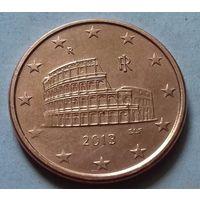 5 евроцентов, Италия 2013 г., AU
