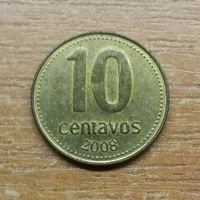 Аргентина 10 сентаво 2008_РАСОДАПРЖА КОЛЛЕКЦИИ