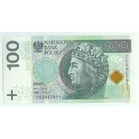 Польша 100 злотых 2012 год.