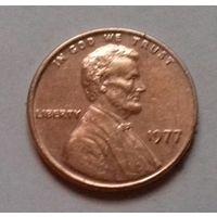 1 цент США 1977, 1977 D