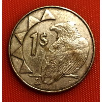 104-17 Намибия, 1 доллар 2002 г.