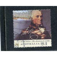 Австралия. Джон Хантер, военный моряк, губернатор