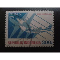 Индонезия 1992 авиапочта