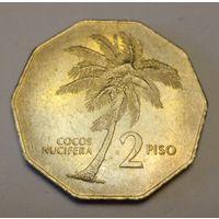 Филиппины 2 писо песо 1985,  большая