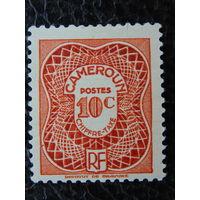 Колония Франция  Камерун. Налоговая 1939-47г.