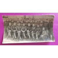 """Фото """"16 отдельный батальон"""", """"Самодеятельность 16 отд. б-на"""" 1945 г, Берлин (2 шт.)"""