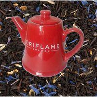 Заварочный чайник Oriflame красный уютный