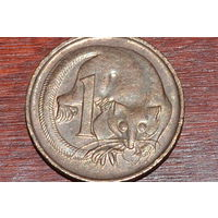 1 цент 1981  Австралия бронза