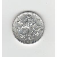 50 геллеров Чехия 2006. Лот 6402