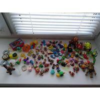 Киндеры и игрушки из макдональдса, лотом