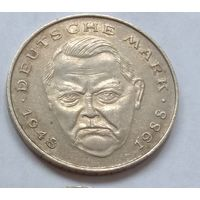 2 марки 1989 ФРГ