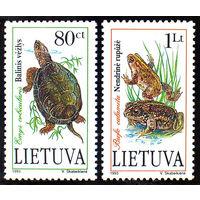 Литва. 1993 г. Фауна Литвы