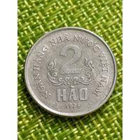 Вьетнам 2 хао 1976 ( сохран )