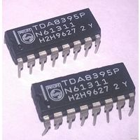 TDA8395P, Декодер SECAM ТВ [DIP-16] TDA8395