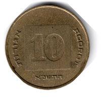 Израиль. 10 агорот. 1991 г.