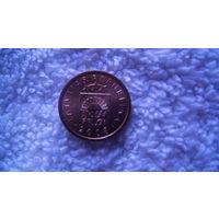 Латвия 1 сантим2008г. распродажа