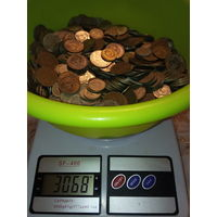 3 кг . очень красивых монеток СССР.С 1 рубля.