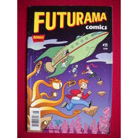 Оригинальный комикс Futurama Comics #71 Pizza Wars in Brooklyn Bongo Comics Groening Simpsons NEW NM