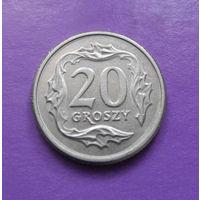 20 грошей 1992 Польша #10