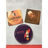 Бирдекель подставка под пиво картон 3 Шт