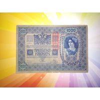 Австрия 1000 крон 1919г