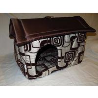 Домики и будки для собак и кошек.