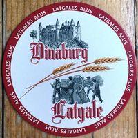 Подставка под пиво (бирдекель) Dinaburg Latgale No 2