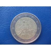 2 евро Франция 2011 30 лет музыкальному фестивалю