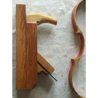 Рубанок деревянный в хорошем состоянии, ширина лезвия - 35мм