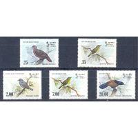 Шри-Ланка 1983 Фауна. Птицы, 5 марок