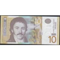 10 динаров 2011г. Сербия UNC