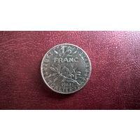 Франция 1/2 франка, 1983